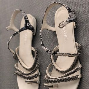 eaefa38a8dd508 CHANEL Shoes - CHANEL 15S 2015 Tweed Chains Size EUR 40.5C